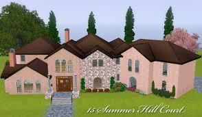 100 Summer Hill House Mod The Sims 15 Court Beautiful Family Home