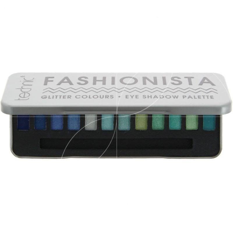 Technic Fashionista Eye Shadow Palette - Glitter Colours