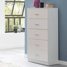 finebuy design sideboard fb52331 weiß hochglanz 60x110x30 cm anrichte holz modern schmale schubladenkommode esszimmer kleiner allzweckschrank flur