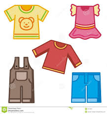 Kids Clothes Clipart