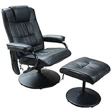 Massage Chair Amazon Uk by Julian Bowen Malmo Recliner And Footstool Easy Care Faux Leather