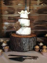 Wedding Cake Holder Medium Size Of Stands Barn Cakes Rustic Cutting Set