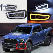 White+Yellow LED Car Daytime Running Light Drive Lamp For Ford F-150 ... Dodge Heavy Duty Cab Roof Light Truck Car Parts 264146bks 2835smd 48 Fxible Tailgate Side Bar Amberwhite Led Strip Amazoncom Recon 26414x Running Automotive 12 Offroad 54w 3765 Lumens Super Bright Leds Ijdmtoy 5pcs Black Smoked Top Marker Lamps With Testing Chromed Lego Bricks With For Making Top Ligh Flickr 5pcs Amber Lights For Jeep Suv Gmc Us Sales Surge 29 Percent In January Partsam Board Lighting Kit 120 Mengs 1pair 05w Waterproof 6x 2835 Smd