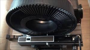 1976 gaf 35mm slide projector 1680