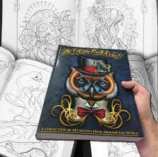 The Coloring Book Fabulous Project