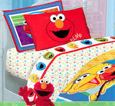 Elmo Toddler Bed Set by Twin Bedding On Sesame Street Bed Sheet Set Twin Size Elmo Sheets