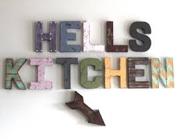 Hells Kitchen Decor Signs Art Wall