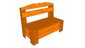 diy outdoor storage bench seat friendly woodworking projects