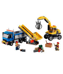 LEGO City City Demolition Excavator And Truck - Buy LEGO City City ...