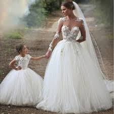 Vintage Ball Gown Wedding Dresses Lace Dress IPunya Bridal
