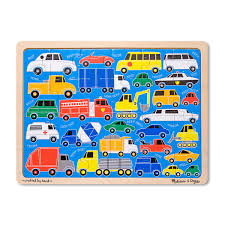 100 Melissa And Doug Trucks Beep Beep Cars And Wooden Jigsaw Puzzle With