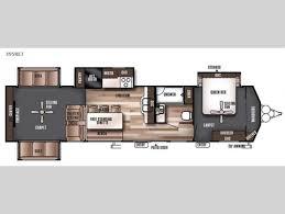 Wildwood Fifth Wheel Floor Plans Colors New 2017 Forest River Rv Wildwood Lodge 395ret Destination Trailer