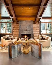 Moody Cabin Blends Rustic And Modern Details