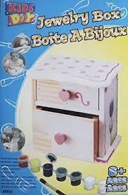 amazon com maxim kids diy do it yourself jewelry box kit w pre