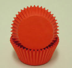 Red Cupcake Liners Standard Size 500 Ct