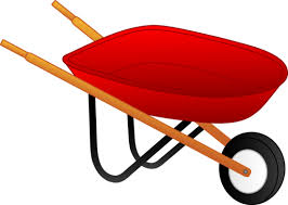 Little Red Wheelbarrow Free Clip Art