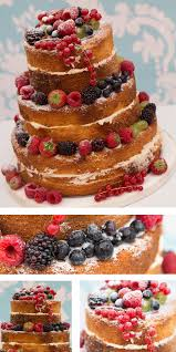 Naked Cake Rustic Style