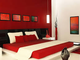 Red Bedroom Wall Color Ideas Interesting