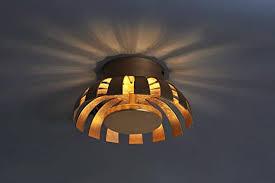 led deckenleuchte gold design ø26cm 3000k wohnzimmer