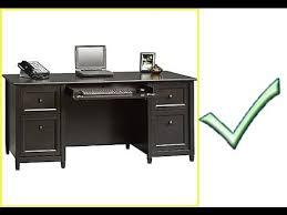 Staples Sauder Edgewater Executive Desk by Great Desk Sauder Edge Water Computer Desk In Chalked Chestnut