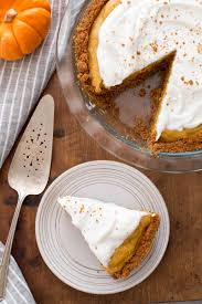 Gingersnap Pumpkin Pie Cheesecake by Chiffon Pumpkin Pie Recipe Simplyrecipes Com