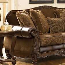 Crawford Chocolate Living Room Set Signature Design By Ashley Furniture