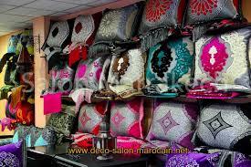 tissus pour rideaux pas cher khdadi de salon marocain à vendre déco salon marocain