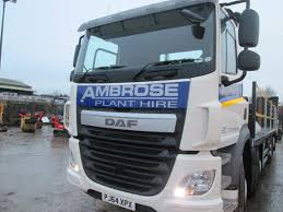 New DAF 32 Ton Truck 006 | Ambrose Plant Hire