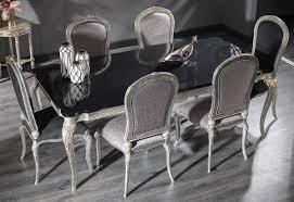 casa padrino luxus barock esszimmer set 1 esstisch 6 esszimmerstühle esszimmermöbel im barockstil luxus qualität edel prunkvoll