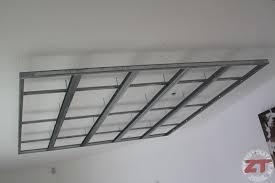 brico création d un faux plafond avec ruban led et spots