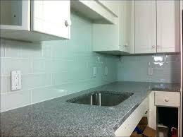 brick subway tile backsplash grey brick glass kitchen subway