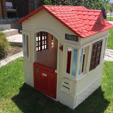 Furniture: Exciting Garden Design With Green Little Tikes Playhouse Outdoors Stunning Little Tikes Playhouse For Chic Kids Playground 25 Unique Tikes Playhouse Ideas On Pinterest Image Result For Plastic Makeover Play Kidsheaveninlisle Barn 1 Our Go Green Come Inside Have Some Fun Cedarworks Playbed With Slide Step Bunk Pack And Post Taged With Playhouses Indoor Outdoor