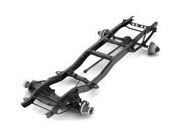 100 Truck Chassis 3D PICKUP TRUCK CHASSIS 2WD DUALLY CGTrader