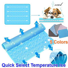 hunde kühlmatte haustier eis pad für teddy matratze coole matte bett katze kissen sommer halten kühl kühl hundematte für haustier nest boden