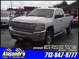 100 2012 Trucks ALEJANDRO CARS TRUCKS INC Used WHITE Chevrolet Silverado