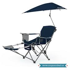 Get 50% Off On Sport Brella Portable Recliner Chair Only At ... Trademark Innovations 135 Ft Black Portable 8seater Folding Team Sports Sideline Bench Attached Cooler Chair With Side Table And Accessory Bag The Best Camping Chairs Travel Leisure 4seater Get 50 Off On Sport Brella Recliner Only At Top 10 Beach In 2019 Reviews Buyers Details About Mmark Directors Padded Steel Frame Red Lweight Versalite Ultralight Compact For Wellington Event