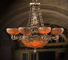 Alabaster Chandelier Table Lamp