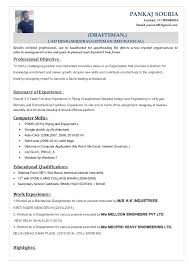 Cad Drafter Resume Autocad Cover Letter Seangarrette Template Free Word Pdf Documents Download