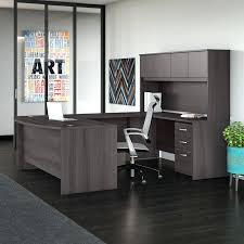 Magellan L Shaped Desk Gray by Office Desk Office U Shaped Desk Maple Depot Magellan L With