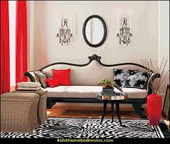 Zebra Bedroom Decorating Ideas by Decorating Theme Bedrooms Maries Manor Moulin Rouge Victorian