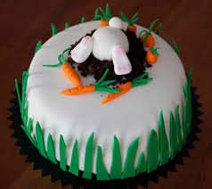 Food Obsessions…  easter bunny cake What s for dinner tonight