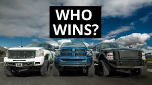 POWERSTROKE VS. DURAMAX VS. CUMMINS - YouTube 2018 Ram 3500 Heavy Duty Top Speed Is The 2016 Nissan Titan Xd Capable Enough To Seriously Compete With Ford F150 Finally Goes Diesel This Spring With 30 Mpg And 11400 And 1500 Diesel Fullsize Pickup Trucks King Of The Hill Silverado Vs Super Power Magazine 34 Economic Evaluation Of Operation Vehicles On Wood Gas Revealed Packing 11400lb Towing 2014 2500 Hd Crew Cab 4x4 Test Review Car Driver 2012 F250 Ranch Still Gas Fords New Worth Price Admission Roadshow 2017 Chevy Colorado V6 8speed Gmc Canyon Ike Gauntlet