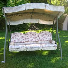 Boscovs Patio Furniture Cushions by Home Trends Swing Walmart Replacement Canopy Garden Winds