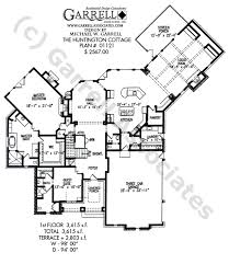 Huntington House Plan 01121 1st Floor