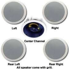 30 Degree Angled Ceiling Speakers by Angled In Ceiling Speakers 483