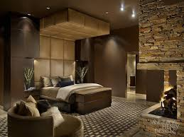 This Impressive Bedroom Has Found The Perfect Balance Blending A Variety Of Deep Browns