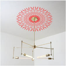 Split Design Ceiling Medallion by Ceiling Love For Non Textured Ceilings High Style Wall Decals