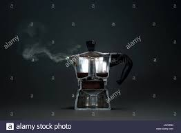 Cross Section Of An Espresso Coffee Maker