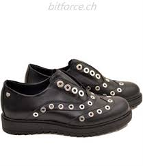 Schwarz Love Moschino Frauen Schuhe Flache