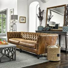 Back Nine Leather Wilmington Leather Sofa In Birmingham